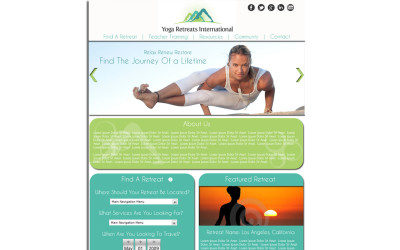 Website: Yoga Retreats