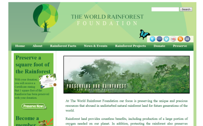 Website: World Rainforest Foundation