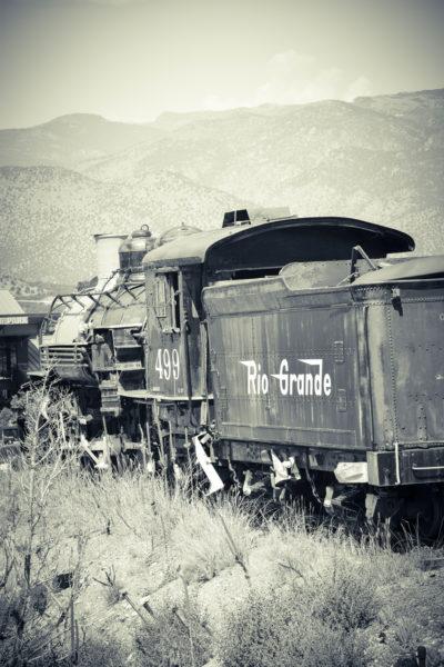Colorado Train - Copyright Steven J Franklin